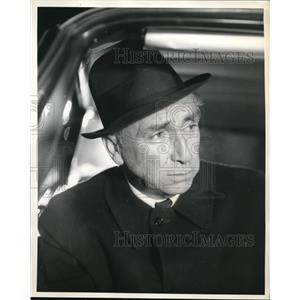 1961 Press Photo Horace McMahon in Naked City