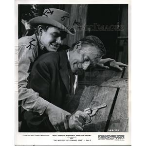 1968 Press Photo Roger Mobley and John Dehner star in Mystery of Edward Sims