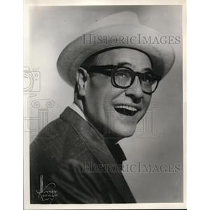 1961 Press Photo Jack E. Leonard guest stars on Candid Camera TV show