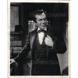1963 Press Photo Raymond Massey In How the West Was Won