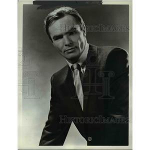 1970 Press Photo Burt Reynolds stars in Dan August TV series