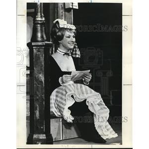 1972 Press Photo Elvira Lorenzi in Der Fledermaus