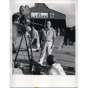 1962 Press Photo John Masters in Bhowani Junction