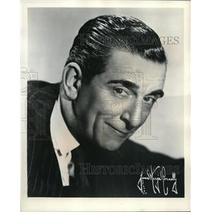 1955 Press Photo Edward Everett Horton stars in The Merry Widow on NBC