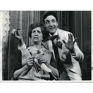 1977 Press Photo Josephine Nichols and Robert Moberly in The Show Off - orp20176
