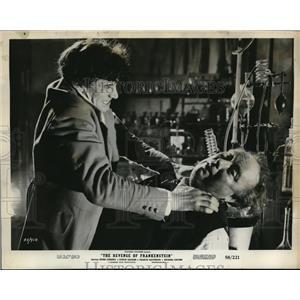 "1958 Press Photo Michael Gwynn in ""The Revenge of Frankenstein"" - orp19091"