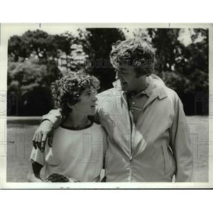 1971 Press Photo Hal Holbrook and Scott Jacoby in That Certain Summer - orp15287