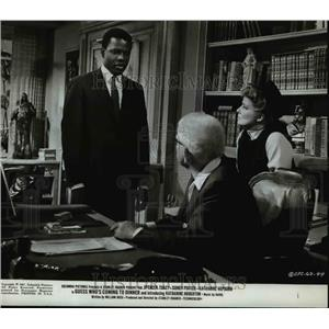 1968 Press Photo Sidney Poitier in Guess Who's Coming to Dinner - orp22656