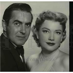 1953 Press Photo Tyrone Power in in John Brown's Body - orp22316