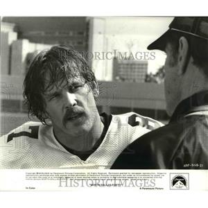 1979 Press Photo Nick Nolte and G.D. Spradlin star in North Dallas Forty