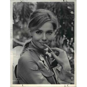 1969 Press Photo Eva Renzi stars in The Pink Jungle - orp22423