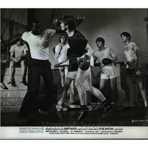 1967 Press Photo Sidney Poitier - orp22658