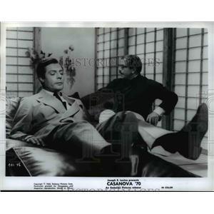 1965 Press Photo Marcello Mastroianni in Casanova - orp22564