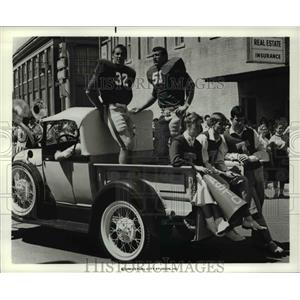 1977 Press Photo Local Conway Arkansas Students in 9/30/55 movie film
