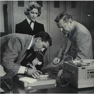 1954 Press Photo Ann Robinson in Dragnet - orp24041