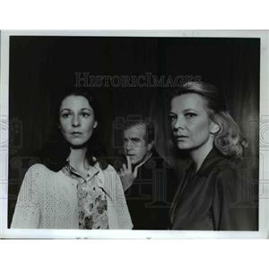 1978 Press Photo Jane Alexander & Gena Rowland in A Question of Love - orp24177