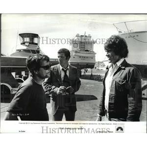 1974 Press Photo William Daniels & Warren Beatty in The Parallax View