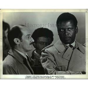 1970 Press Photo Sidney Poitier in they Call me MISTER Tibbbs - orp22657