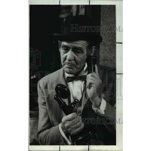 1970 Press Photo Robert Ryan in Front Page - orp24099