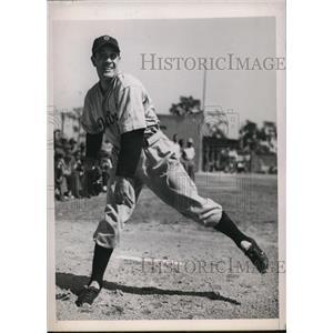 1940 Press Photo Detroit Mich Thomas E Seats southpaw pitcher - nes25586