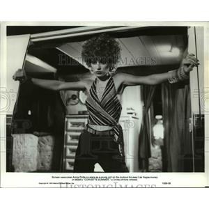 1978 Press Photo Annie Potts in Corvette Summer - orp23969