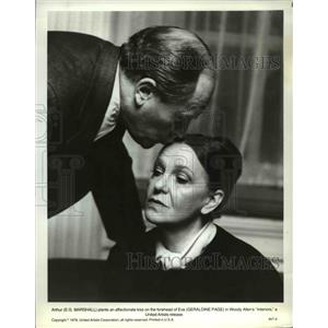 1978 Press Photo Geraldine Page & EG Marshall in Interiors - orp23496