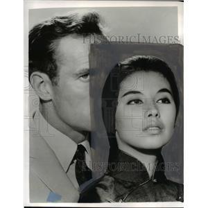 1968 Press Photo France Nuyen stars in Diamond Head - orp22971