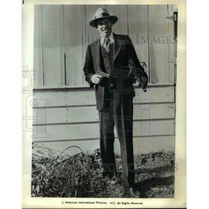 1973 Press Photo Warren Oates In Dillenger - orp22997