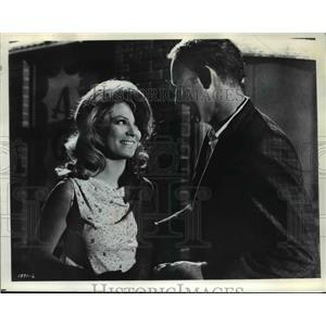 1969 Press Photo Sheree North and Gene Hackman in The Gypsy Moths - orp22822