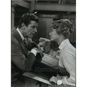 1962 Press Photo Robert Preston and Shirley Jones star in The Music Man
