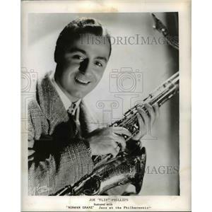 1948 Press Photo Joe Flip Phillips Jazz At The Philharmonic - orp23089