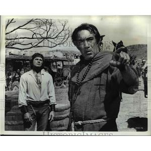 1968 Press Photo Anthony Quinn in Guns for San Sebastian - orp23978