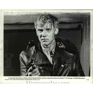 1979 Press Photo Malcolm Mcdowell in The Passage - orp23692