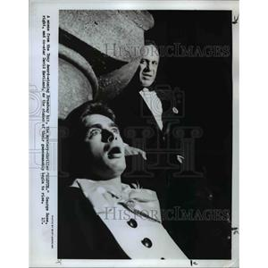 1973 Press Photo George Rose and David Haviland star in Sleuth - orp23265