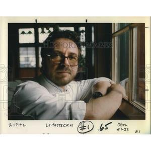 1992 Press Photo Chef James Beals of Oregon. - ora06003