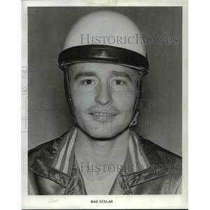 1968 Press Photo Max Seslar - orp26291
