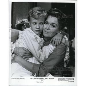 1963 Press Photo Jane Wyman, Hayley Mills in Pollyanna - orp27215