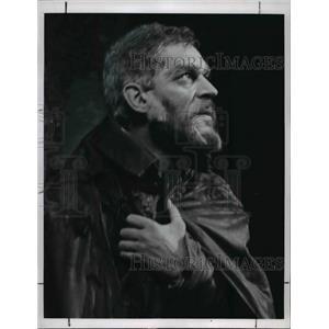 1964 Press Photo Paul Scofield stars as King Lear Royal Shakespeare Company