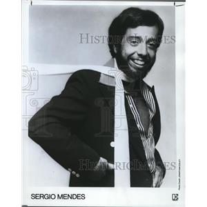 1977 Press Photo Sergio Mendes - orp27454