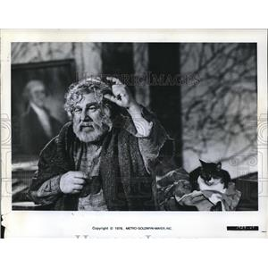 1976 Press Photo Peter Ustinov
