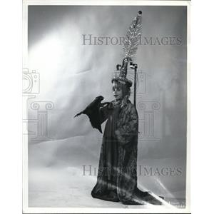 1972 Press Photo Penelope Tripp in The Emperor and the Nightingale