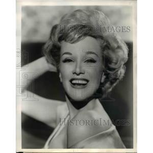 1960 Press Photo Jan Sterling In AT Your Service