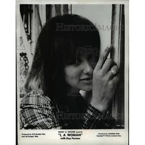 1967 Press Photo Essy Persson in I. A Woman