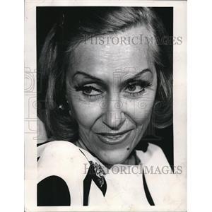 1970 Press Photo Glorida Swanson - orp27245