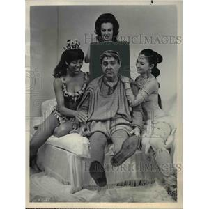 1970 Press Photo Zero Mostel in A Funny Thing Happened on the Way to the Forum