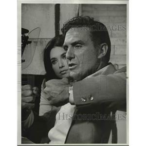 1969 Press Photo Robert Stack In Name Of The Game - orp26704