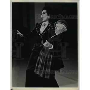 1979 Press Photo Ann Miller & Mickey Rooney in Sugar Babies - orp24964