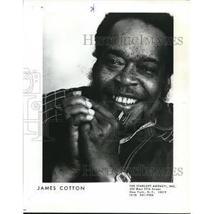 1979 Press Photo James Cotton