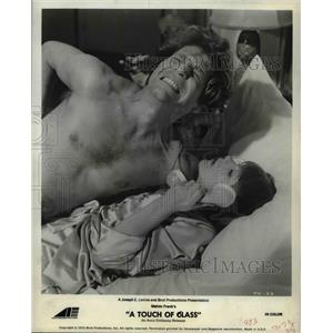 1973 Press Photo George Segal and Glenda Jackson star in A Touch of Class
