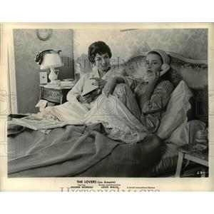 1960 Press Photo The Lovers Jeanne Morreau Louis Malle - orp23897